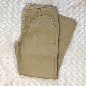Woolrich Size 10P Pants Tan Khaki Petite